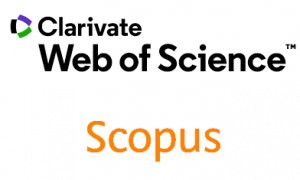 Logos of academic databases Web of Science and Scopus