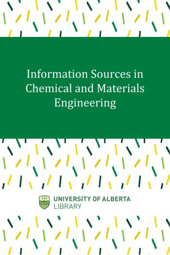 Cover image for Information Sources in Chemical and Materials Engineering