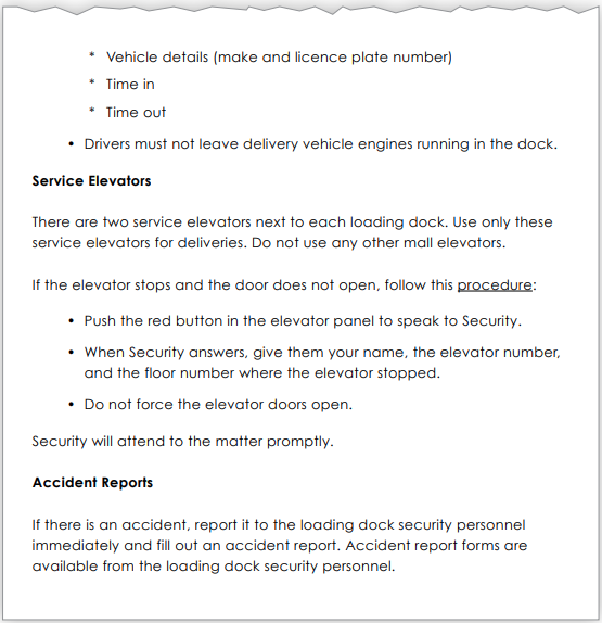 Delivery policy page 2