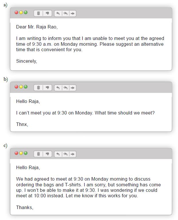 Emails to Raja Rao