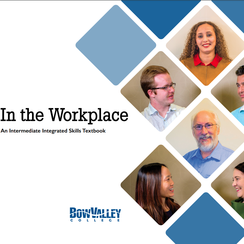 Cover image for In the Workplace: An Intermediate Integrated Skills Textbook