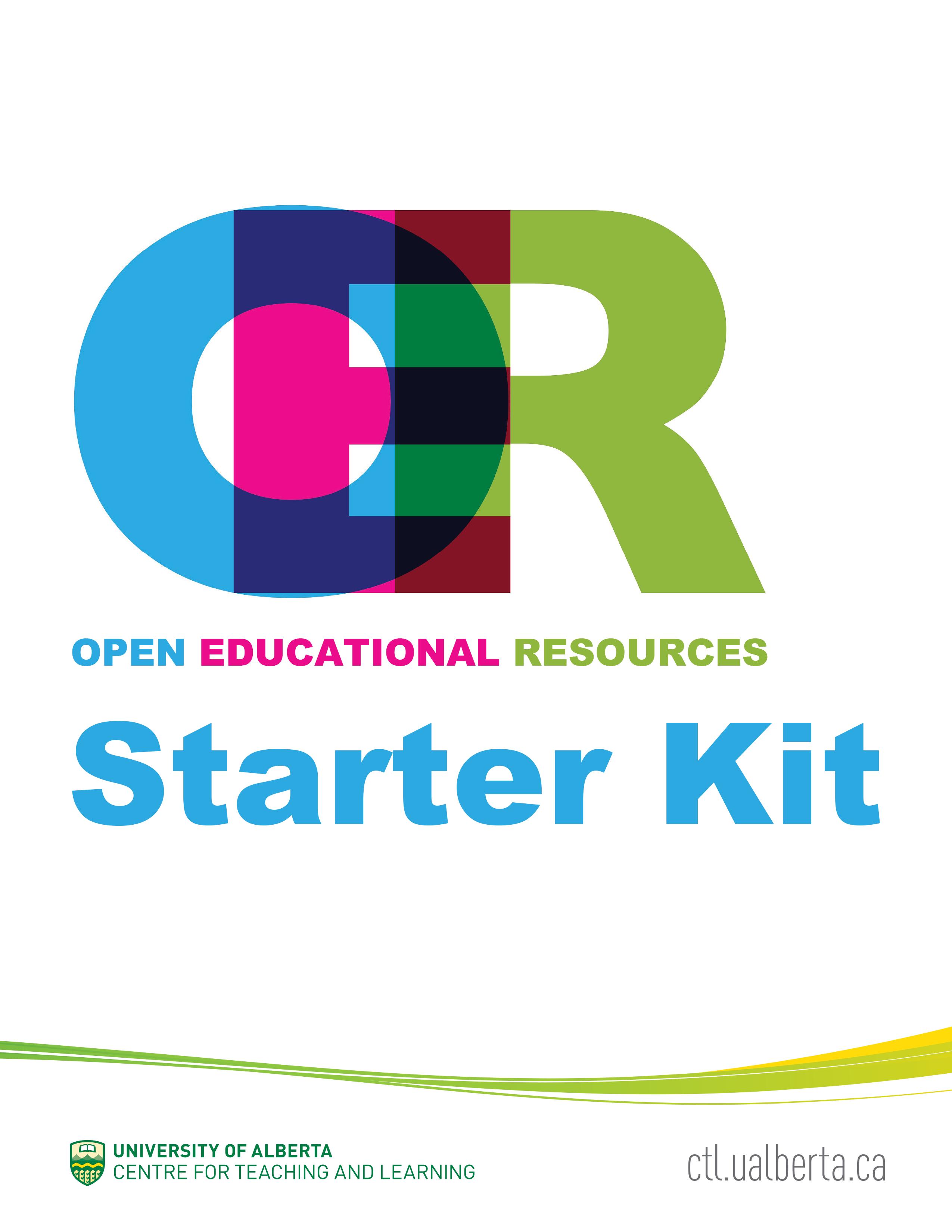 Cover image for University of Alberta OER Starter Kit