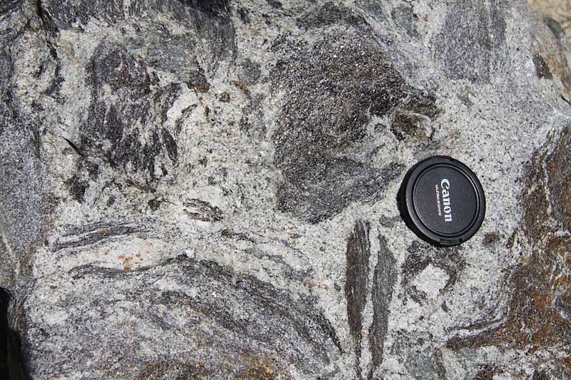 Figure 6.2.6: Migmatite from Prague, Czech Republic