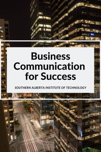 Cover image for Business Communication for Success