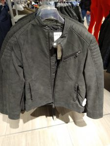 """Picture from a """"Kaufhaus"""" - jacket section"""