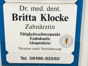 Dr. Klocke (Zahnärztin)