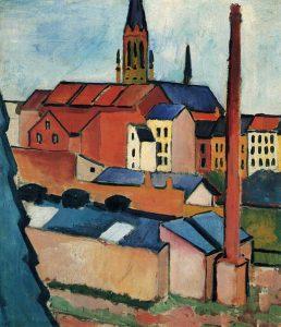 August Macke (1887-1914): Marien church
