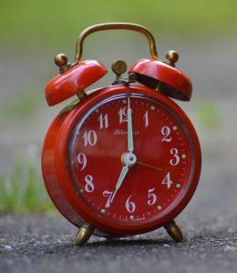 clock: 7:00