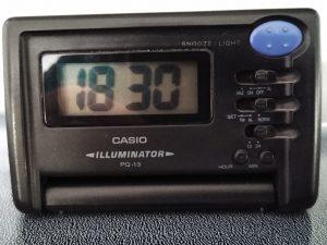 digital clock: 18:30