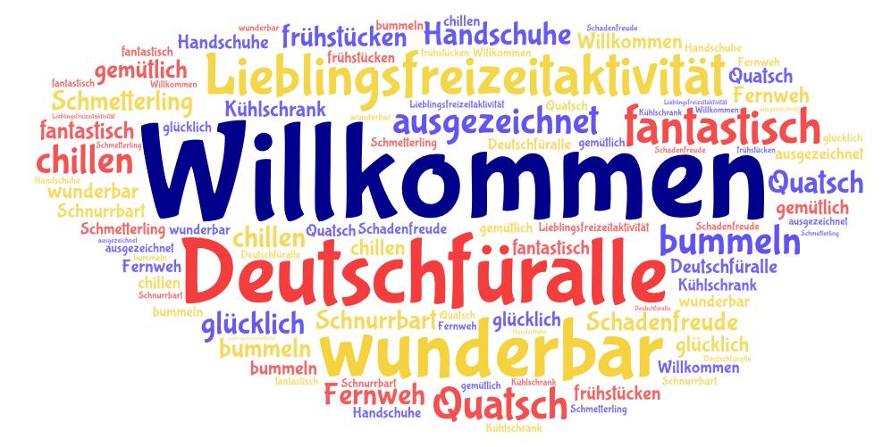 Willkommen: Deutsch für alle logo